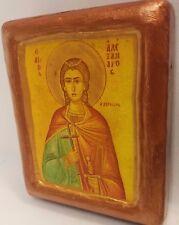 Saint Alexander Alexandros Dervisis Αγ Αλεξανδρος ο Δερβισης Greek Orthodox Icon