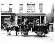 Photo ca 1904 Richmond Virginia Fire Department