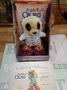 Compare The Meerkat Baby Sleepy Oleg Soft Toy Limited Edition Brand New Boxed