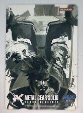 METAL GEAR SOLID BANDE DESSINEE QUO PHONE CARD JAPAN