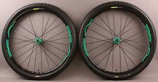 DEMO Sample Mavic XA Elite 27.5 Mountain Bike Wheelset and Tires Green MSRP $649
