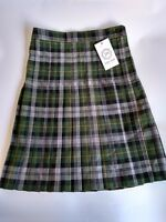 schoolwear Girls Box Pleat Skirt size L20, W26