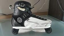 Deshi Carbon Pro Aggressive Inline Skates Size USA Siz12-13 Roces K2 Valo Razors