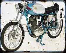 Ducati 175 Gran Sport A4 Photo Print Motorbike Vintage Aged