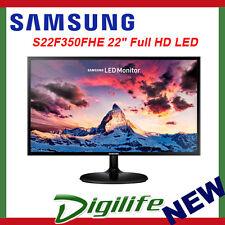 """Samsung S22F350FHE 22"""" Full HD LED Monitor F350 SLIM BEZEL 3YR"""
