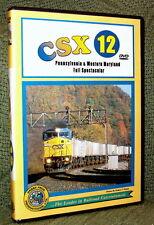 "20051 TRAIN VIDEO DVD ""CSX VOL. 12  PENNSYLVANIA & W. MARYLAND"""