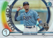 2020 Bowman Chrome Baseball Scouts Top 100 Insert Cards