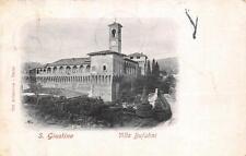 3343) S. GIUSTINO (PERUGIA) VILLA BUFALINI. VIAGGIATA NEL 1911.
