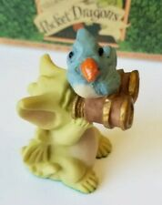 """""""Bird Watcher"""" Whimsical World of Pocket Dragons by Real Musgrave with Box"""