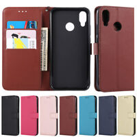 Luxury Wallet Leather Flip Case Cover For Huawei P30 Lite Honor 10 Lite P20 Lite