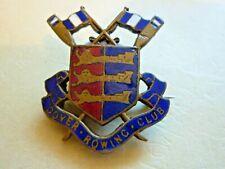 More details for  vintage enamel badge dover rowing club badge