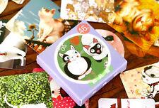1 box 46 PCS cat diary Planner Scrapbook deco envelope sealing label stickers