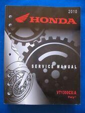 Honda 2010 VT1300 CX/A Fury BRAND NEW Original Factory Shop Service Manual