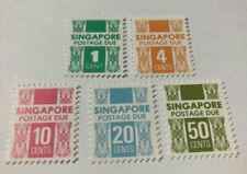 ~ Singapore 1978 Postage Due Stamps! MNH VF! ~