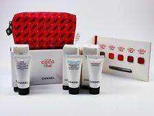 CHANEL Tasche coco flash Lippenstift 5er + cc creme + creme + cleansing milk NEU