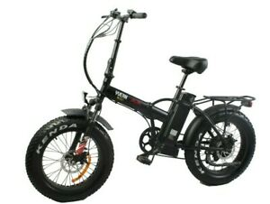 Electric Foldable Bike 20″ E-Bike E-Folding Fat Tyre 250W 36V UK Legal Shimano