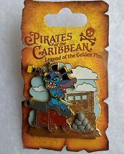 *New* POTC Legend Golden Pins Authentic ©Disney Stitch Cannon 3D Pin