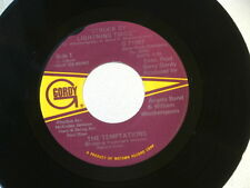 TEMPTATIONS~STRUCK BY LIGHNING TWICE~NEAR MINT~I'M COMING HOME~GORDY ~ SOUL 45