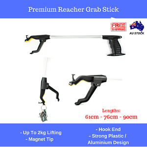 Grab Stick Pick Up Grabber Trash Reacher Picker Up, Dresser Magnet Tip 3 Sizes