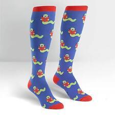 Sock It To Me Women's Funky Knee High Socks - Bookworm