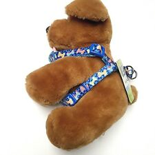 Dog Step In Harness Lead Strap Training Walk Adjustable Top paw Blue XS - Large