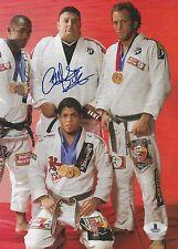 Carlos Valente Signed 8x10 Magazine Page Photo BAS Beckett COA UFC BJJ Jiu-Jitsu
