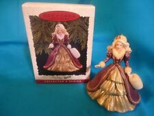 Hallmark Barbie Ornament Holiday Barbie ,Collector's Series, 1996