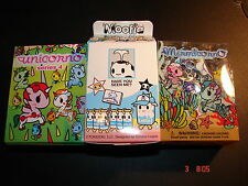 Unicorno Series 4 Moofia mermicorno Tokidoki Blind boîtes x 1 de chaque