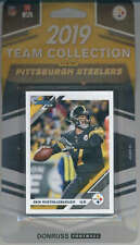 2019 Donruss Football Factory Sealed Pittsburgh Steelers Team Set of 10 Cards