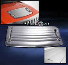 2006-2010 HUMMER H3 HOOD DECK VENT PANEL HANDLE COVER TRIM BEZEL CHROME 3PCS SET
