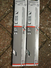 Bosch S1531L Recipricating Sabre Saw Blades for Wood Cutting 2 x blades