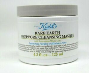 Kiehl's Rare Earth Deep Pore Cleansing Masque 4.2oz/125ml.  New & Unbox SEALED