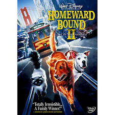 Homeward Bound 2 Two Lost in San Francisco Disney Dog & Cat Family Movie on DVD