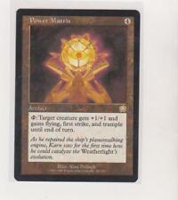 1x Power Matrix - Mercadian Masque Magic the Gathering NMINT Rare Artifacts LP