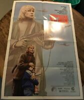 "NOWHERE TO HIDE Original Folded onesheet movie poster- 1987 27""x41"" ANN MADIGAN"