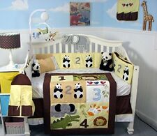 SoHo 1234 Panda Friends Complete Bedding Set with FREE BABY CARRIER !!!