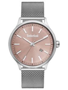 New Timberland Allendale Men's Quartz Watch Mesh Steel Strap- 15638JS/79MM