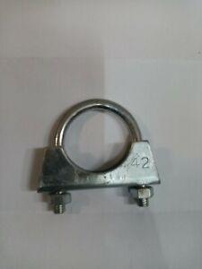 42mm M8 Heavy Duty Universal Exhaust Pipe U Bolt Clamp