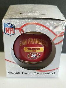 BRAND NEW SAN FRANCISCO 49ERS  CHRISTMAS ORNAMENT NFL FOREVER