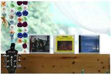 White Wooden CD Frames Home Interior Favorite Album Display Table top Wall mount