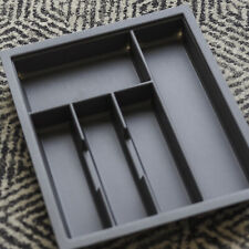 450mm Charcoal Cutlery Tray for Grass Scala Drawer