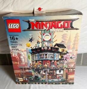 Ninjago City 70620 Complete w/ Box Original Lego Unused Decals Most Bags Sealed
