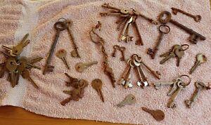 Vintage Old Keys found in a farmers barn Job lot approx 57