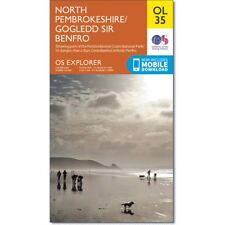 OS Explorer map OL35: North Pembrokeshire