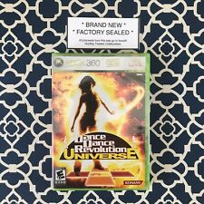 Dance Dance Revolution: Universe for Microsoft Xbox 360 (2007) *BRAND NEW SEALED