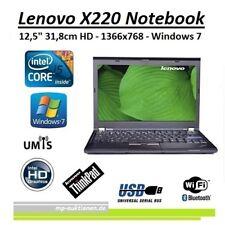 "Lenovo x220 Notebook 12,5"" Core i5 2,6Ghz, 4GB, 320GB, DVD, UMTS, Win 7"