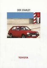 TOYOTA Starlet P6 Youngtimer Nippon Klassiker Prospekt Brochure 1983 8
