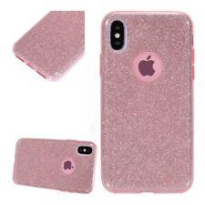 Coque Silicone Semi Rigide Rose Brillant Iphone X / 10