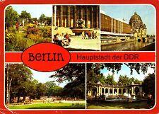 Berlin ( DDR ) , Ansichtskarte, 1988 gelaufen