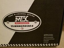 New listing Mtx Thunder6304 Vintage Old School Amp 4 Channel